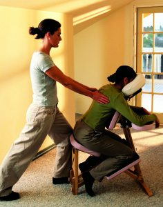 chair massage insurance