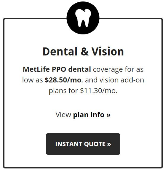 dental and vision